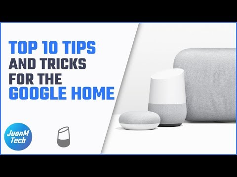 Top 10 Tips and Tricks for the Google Home