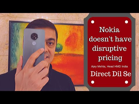 Nokia smartphones don't have a disruptive pricing: HMD