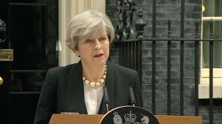 Theresa May calificó el ataque terrorista en Manchester como