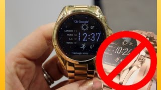 Michael Kors Smart Watch Unboxing and Review DRAMA  ( PART 1 )