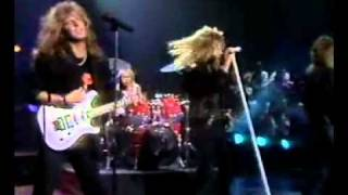 Europe - Open Your Heart on TV in Spain 1988