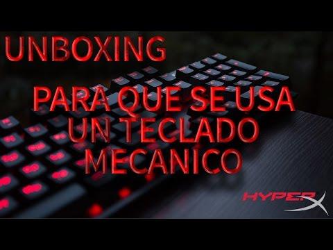 Teclado Mecanico HyperX | Para que sirve un Teclado Mecánico |