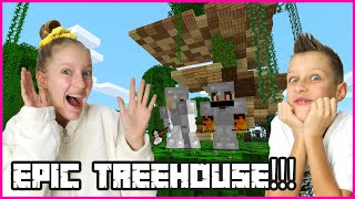 BUILDING AN EPIC TREEHOUSE with RONALD!!!