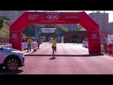 La Sansi Sant Feliu de Llobregat 29/10/17 llegada del campeón de 5km