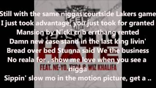 DJ Felli Fel   Reason To Hate Ft Ne Yo, Tyga  Wiz Khalifa Lyrics On Screen)