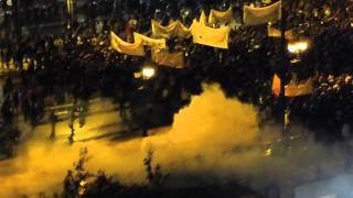 Athens riots 07-11-2012 - Just a Beautiful Day (Danko Jones)