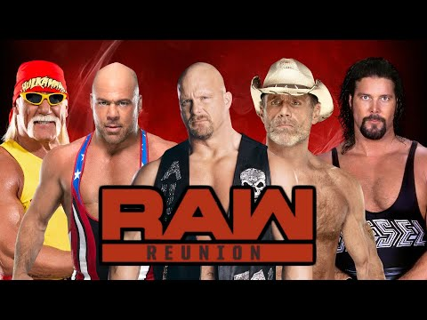 33 Wrestlers Confirmed For WWE RAW Reunion