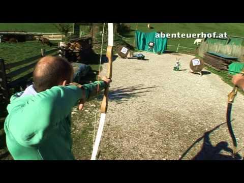 Bogenschießen am Abenteuerhof
