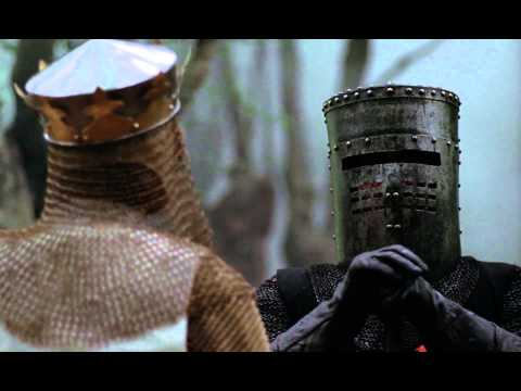 Tony Abbott Is Perfect As The Black Knight In Monty Python's The Holy Grail