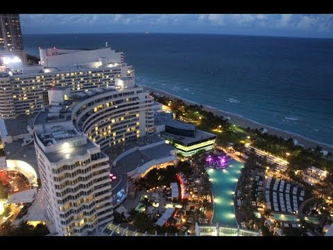 "Fontainebleau Hotel Miami Beach  Review and Tour  ""TRESOR BAY VIEW ONE BEDROOM SUITE"""