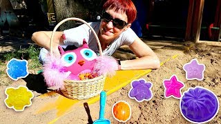 Маша Капуки и ХопХоп на детской площадке. Видео для детей.