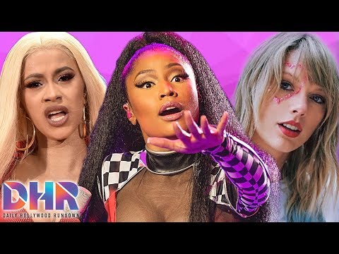 Did Cardi B Just Respond To Possible Nicki Minaj Shade?! Taylor Swift Opens Up On 'Lover'! (DHR)
