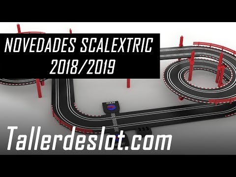 ▷ Novedades Scalextric 【 2018 - 2019 】Coches, Circuitos, WOS, Compact, Digital... ¡Últimas noticias!