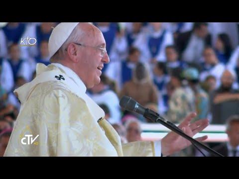 Messe du Pape au Parc Samanes de Guayaquil en Équateur