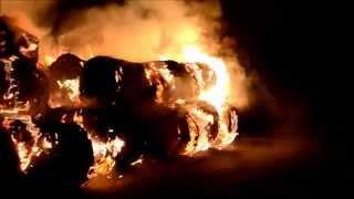preview picture of video 'Pożar słomy w Ścinawie'