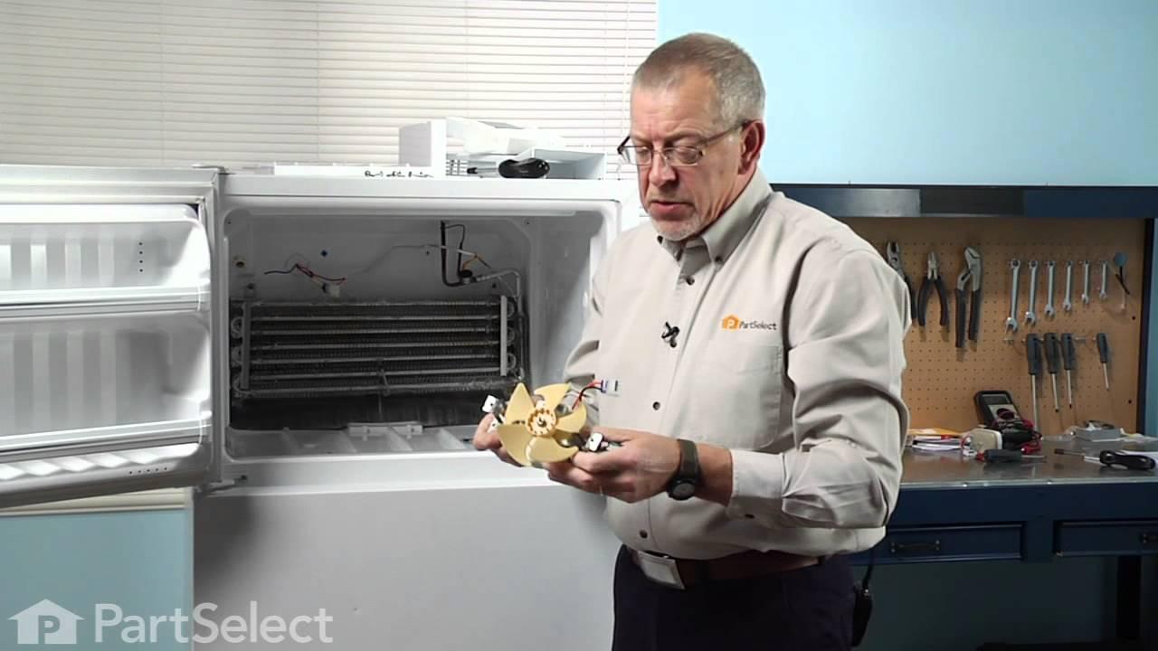 Replacing your General Electric Refrigerator Lid Bumper