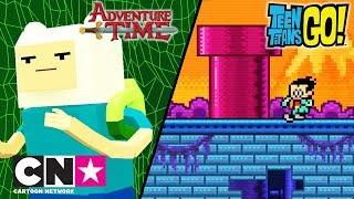Время приключений + Юные Титаны, вперед!   Видео игры   Cartoon Network