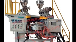 preview picture of video 'pe lay flat hose machine'