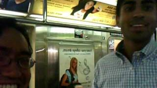Anoop Desai rides the New York City Subway