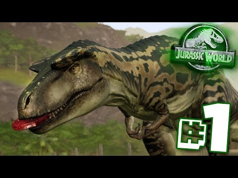 BACK TO SAVE THE DINOSAURS!!! - Jurassic World Evolution - Claire's Sanctuary | Ep1 HD