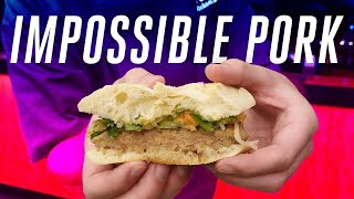 Impossible Foods Pork first taste at CES 2020 thumbnail