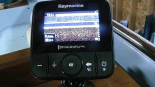 Эхолот картплоттер raymarine e70294 dragonfly 4 pro