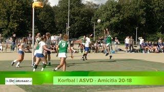Korfbal in Dronten: ASVD - Amicitia