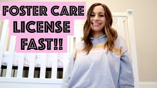 HOW TO GET YOUR FOSTER CARE LICENSE FAST 2019 | HOME STUDY | PRIDE TRAINING