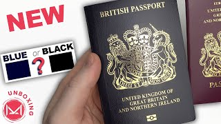 NEW British Passport 2021 unboxing is it Blue or Black?