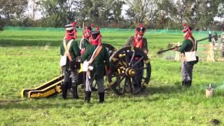preview picture of video '1813 - 2014 ~ Historische Gefechtsdarstellung Völkerschlacht Liebertwolkwitz 2/2 18.10.2014'
