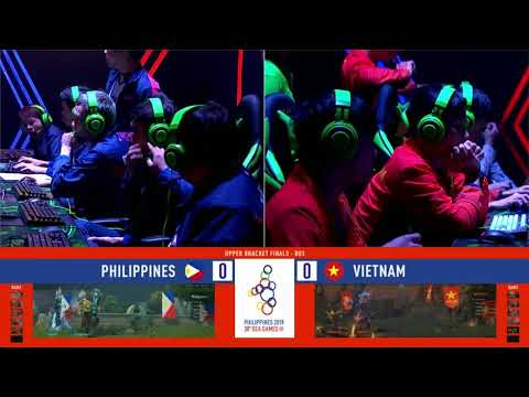 SEA Games 2019: Philippines VS Vietnam in DOTA 2 Upper Bracket FINALS