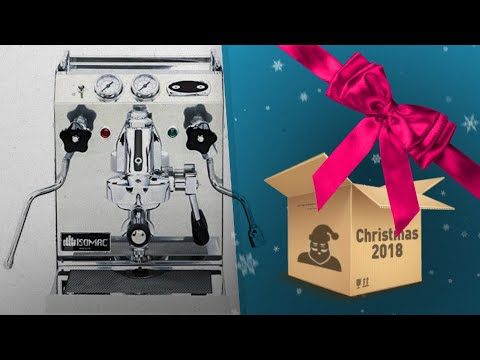 Most Wished For Isomac Espresso Machine / Perfect Gift Ideas Fro Coffee Lovers