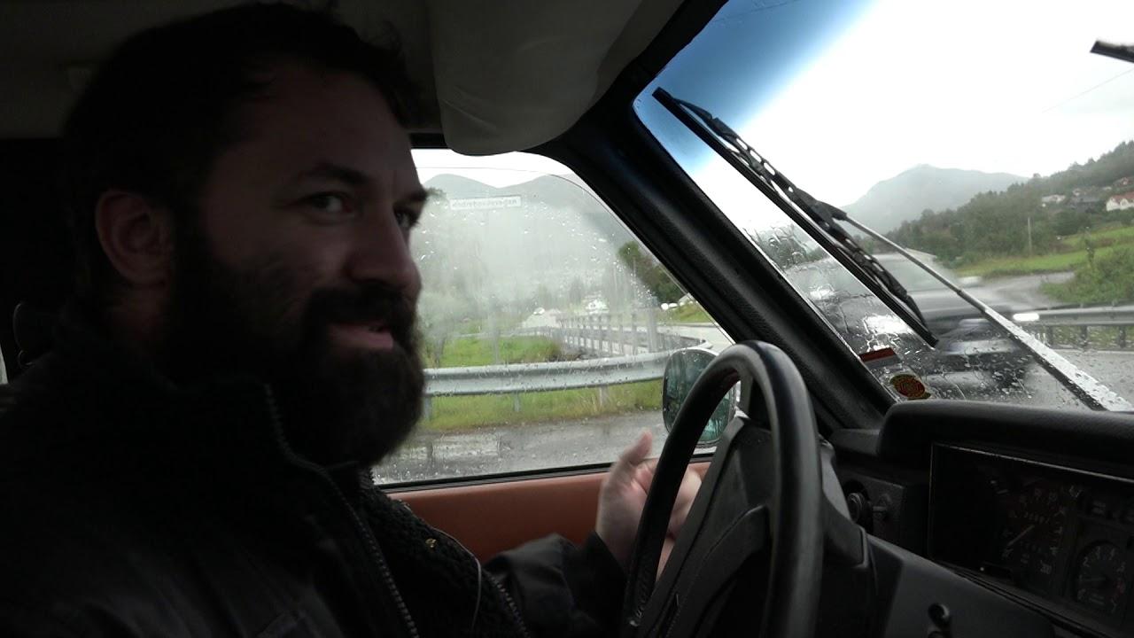 Knut Åge bygde eget bilverksted hjemme