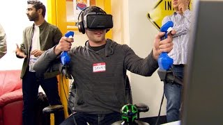 Science of Innovation: Motion Controller for Virtual Reality