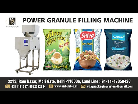 Mini Powder Granule Filling Machine