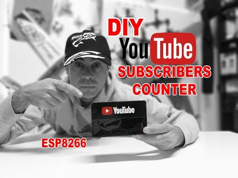 HOW to MAKE or OWN YouTube Subscribers Counter - EASY DIY