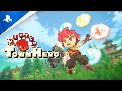 Little Town Hero - Launch Trailer | PS4