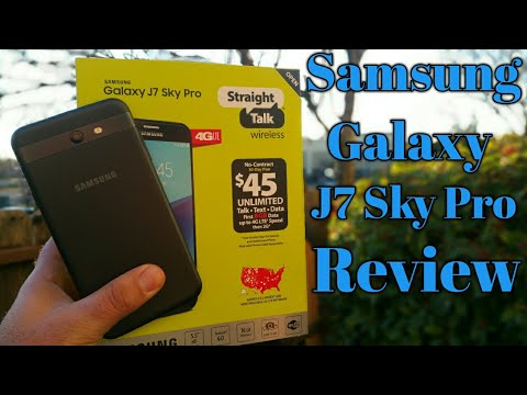 Samsung Galaxy J7 Sky Pro Full Review