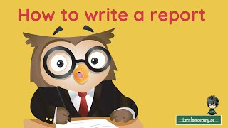 How to write a report - tips for school success