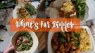 WHAT'S FOR DINNER | EASY WEEKNIGHT DINNERS
