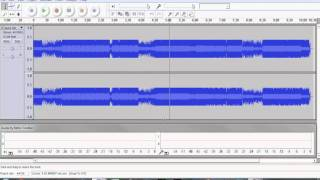 how to autotune your voice for free on audacity (t-pain effect