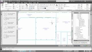 Creating a Power System: AutoCAD MEP 2013