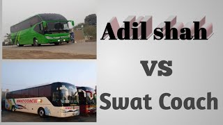 preview picture of video 'Adil shah yutong vs Swat express yutong'