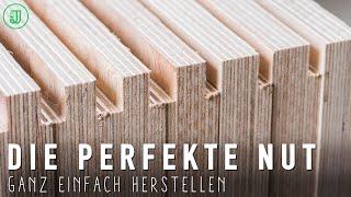 NUTEN präzise und wiederholgenau herstellen! | Werkstattschrank XXL #2 | Jonas Winkler