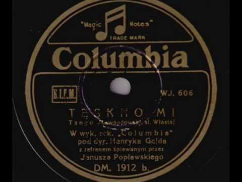 Polish tango: Henryk Gold Orch. - Tęskno mi (I