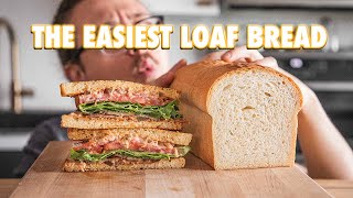 How To Make Supermarket Bread (Sandwich Loaf Bread)