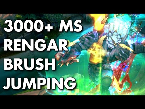 3000+ MS RENGAR JUMPING OUT OF BRUSH