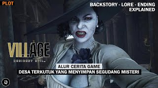 Seluruh Alur Cerita + PENJELASAN Game RESIDENT EVIL 8 VILLAGE - Plot RE 8 Village (Capcom)