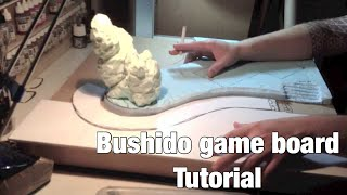 """Bushido"" game board pt1"