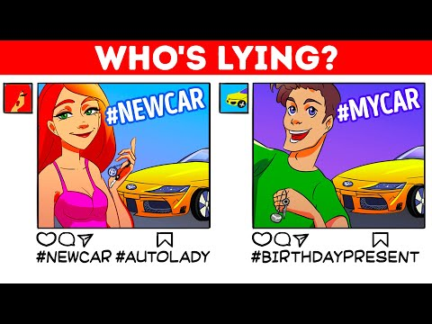 Who's THE LIAR? 🤔 Difficult Riddles That'll Make You Think Fast